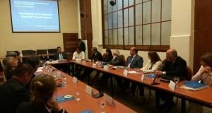 Los ministros de Justicia y Derechos Humanos, Germán Garavano, y de Seguridad, Patricia Bullrich, participaron de la reunión.