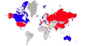 mapa nuclear