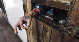Penal de Olmos, 2016: un preso pide ayuda tras automutilarse.